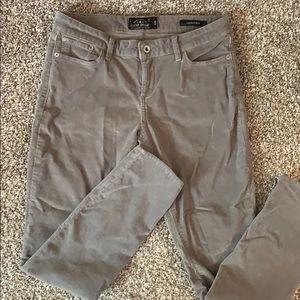 Gray Lucky brand corduroy pants
